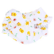 Cloth Reusable Baby Infant Nappy Pants Waterproof Cover Yellow Duck Prints