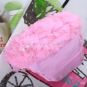 4x Baby Girl Ruffle Panties Bloomers Nappy Cover Pink S