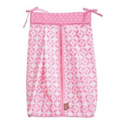 Trend Lab Nappy Stacker, Pink Lily