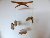 Baby Wooden Mobile Australian Made from Sustainable Timber100%