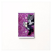 Minnie Mouse Diva Bedding Bathroom Light Switch Cover Switchplate.