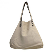 3 in 1 Tote Purse Beige Faux Leather Stonewashed Hobo Shoulder Bag Satchel Crossbody