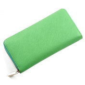 Mantos Eternity Fashion Leather Women Clutch Purse Handbag Long Wallet in Summer