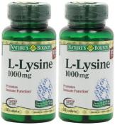 Nature's Bounty L-Lysine, 1000mg, 120 Tablets