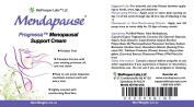 Mendapause Progressa Menopausal Support Cream 100ml