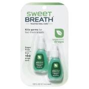 Sweet Breath Spearmint Drops 5ml Twin Pack