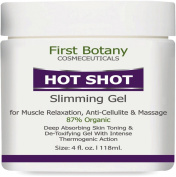 Hot Shot Slimming Gel and Massaging Gel 120ml Great for Muscle Relaxation and Massage Best Anti Cellulite Cream With Intense Thermogenic Action