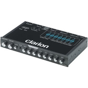 Clarion Eqs755 Half-Din Chassis Graphic Equaliser With Built-In Low-Pass Filter 16cm . X 23cm . X 4.4cm .