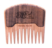 Big Red Beard Combs - Handcrafted No. 95 Beard Comb