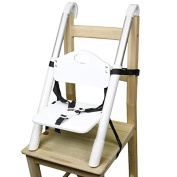 Booster Seat - Svan Lyft High Chair Booster Seat - Adjusts Easily to Most Chairs - White