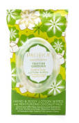 Pacifica Tahitian Gardenia Hand & Body Lotion Wipes