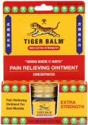 Tiger Balm Pain Relieving Ointment, Extra Strength, 20mls