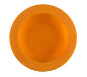 Oogaa Baby Feeding Bowl Silicone - Orange