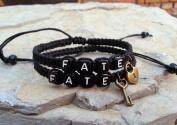Couple Bracelet, Lock and Key Bracelet,fate Bracelet, Love Bracelet, Hand Weaving Bracelet Wedding Gift, Boyfriend Girlfriend Jewellery, Anniversary Gift