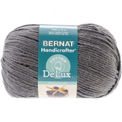Spinrite Handicrafter DeLux Cotton Yarn, Rustic Grey