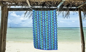 Oversized Beach towels 100% Cotton Yarn dyed Mosaic