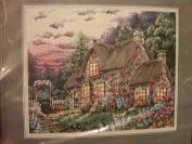 "Janlynn ""English Cottage"" Needlepoint Kit #06-13"