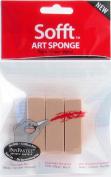 Sofft Art Sponge 3/Pkg-Bar