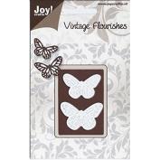 Ecstasy Crafts Joy! Crafts Cutting Die, Butterflies, 3.8cm