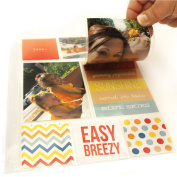 Simple Stories Snatp! Photo Flips for 15cm by 20cm Binders, 10cm by 15cm , 12-Pack