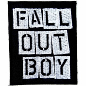 FALL OUT BOY Pop punk Alternative rock Iron On Patches # WITH FREE GIFT