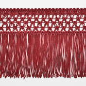 13cm RED Knotted Chainette Fringe for Home Deco, Lamp Shade, Costume by 1 yard, SP-2167