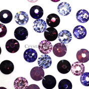 144 pcs (1 gross. 2058 Xilion / 2088 Xirius SS12 (3.1mm) crystal flatbacks No-Hotfix rhinestones nail art PURPLE Colour Mix. from Mychobos (Crystal-Wholesale)**