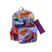 Blaze and the Monster Machines Nickelodeon Character Lunch Box, Backpack, and Pencil Case Set