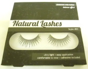 Invogue Natural Lashes Glamorous Strip Lashes-Style 01