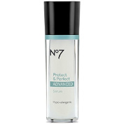 Boots No7 Protect & Perfect Advanced Anti Ageing Serum Bottle - 30ml