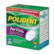 POLIDENT PARTIALS ANTIB