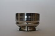 Pegasus Stainless Steel Shaving Bowl, Flat Chalice