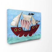 The Kids Room by Stupell Pirate Ship Canvas Art