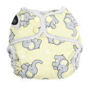 Imagine Baby Products Newborn Snap Nappy Cover, Trumpet