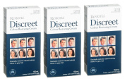3 BOXES of Restoria Discreet Colour Restoring Cream 150ml