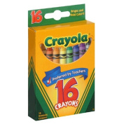 Crayola Classic Colour Pack Crayons, 16 Colours/Box