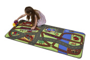 Learning Carpets Let's Hop On The Train Play Carpet, 70cm x 150cm
