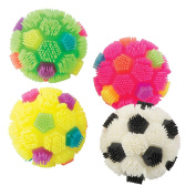 Puffy Soccer Balls - Toy Giveaways - 12 per pack