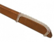 Non-Slip Rubber Hanger Grips Clear Box of 100