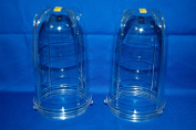 Two 2 Tall Cups for Magic Bullet Blender Juicer