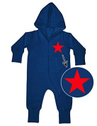 RED STAR Baby All-In-ONE Sweatsuit navy