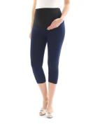 Fact Capri 3 / 4 Length Leggings Leggins Cotton Maternity Leggings Trousers with Pockets