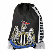 Newcastle United FC Official Focus Football Crest Drawstring Sports/Gym Bag