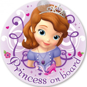 Disney Princess Sofia on Board 'Baby On Board' Car Window Sign