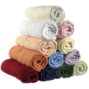 Care Corner Eco Knit Towels - Face Flannel White