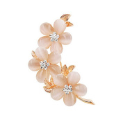 Men Women Gifts Retro Plum Blossom Brooch Pin Clothing Accessories