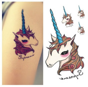 Body Art Temporary Removable Tattoo Stickers Unicorn R3023 Sticker Tattoo - FashionLife