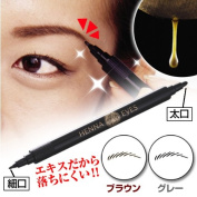 Firm Eyebrows Makeup Natural Bilateral Sweden Brown Grey Thin Wide Henna Dye New