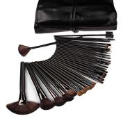 Beau Belle Make Up Brushes - 32pcs Make Up Brush Set + Make Up Brush Case - Make Up Brushes Set - Professional Make Up Brushes - Makeup Brushes