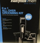 Babyliss Grooming Face And Body Kit 8 In 1 All Over.